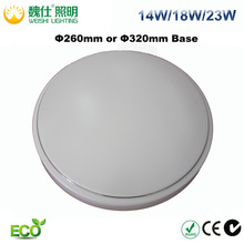 14W/18W/24W LED Ceiling Lamp Acrylic Cover, LED Oyster Light Frosted Cover CE RoHS Approved
