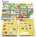 jogo interativo caminhão carro do bebê educacional brinquedos jogo magnético
