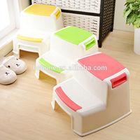 child PP anti-skid bathroom plastic step stool/baby bath chair