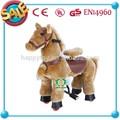 Animado en71/ce grande cavalo de brinquedo, brinquedo de borracha do cavalo, passeio no brinquedo do cavalo