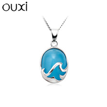 OUXI Factory direct price New Arrival necklace and pendant made with swarovski elements Y30191