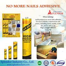 No More Nails glue/ no need nails adhesive,/excellent tile and metal no nails glue