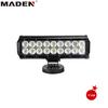 "Track LED Light 9"" 54W Car Light Tuning Light 54W Dual Row LED Light Bar MD-8202-54"