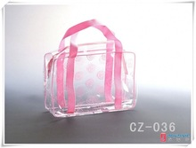 2014 new design promotional clear pvc mini cosmetic bag