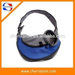Portable soft dog carrier shoulder bag