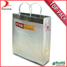Heavy duty promotion stand up pouch plastic bag