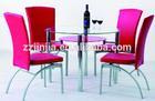 Modern glass dining/bar table