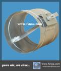 galvanized round air duct volume control damper