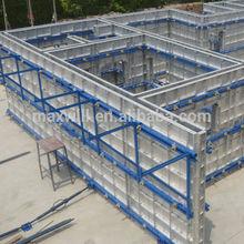 Aluminum concrete shuttering panel building construction materials