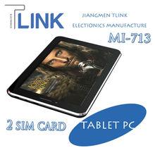 Dual SIM 3G Tablet PC - 7 inch MTK 6577 3G Calling Dual Core Calling Tablet