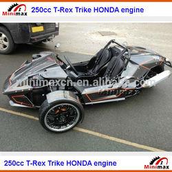 T Rex Trike Roadster 3 wheels 250cc ZONGSHEN engine
