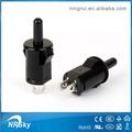 Verrouillage sur/off bouton poussoir commutateurs électriques avec de longues bouton