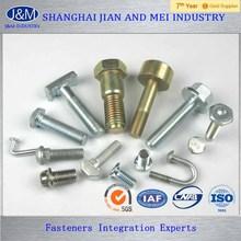 China Shanghai JM hardened steel custems bolt