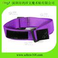 personnalisé imprimé à la mode rainbow métier bandes élastiques pour les vêtements