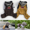 2014 Candy bear cute overalls dog clothes pet accessories