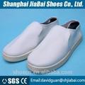 venta al por mayor blanco de la pu de cuero de seguridad antiestático botas zapatos de trabajo