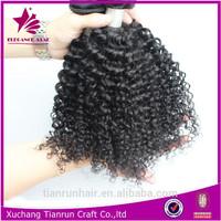 curly human braiding hair 18inch box braids human hair cury weft