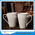 Por atacado baratos cerâmica caneca de café, Plain White canecas de porcelana