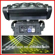 WLED 1-13 New 8 pcs 4 IN 1 RGBW (WHITE) 10W led beam moving head led beam move