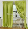 Mais de 10 anos cortina da janela experiência plain chenille cortina e tecido
