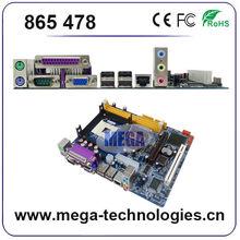 All types of desktop computer motherboard 865