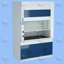 Customized High quality and safe ductless steel lab fume cupboard Chemical laboratory fume hood Price whole sales