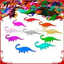 party favors decoration dinosaur sequins confetti