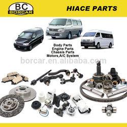 Toyota Hiace Engine parts,suspension parts,body parts