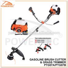 POWERTEC 52CC 1700W 2-Stroke Gasoline Brush Cutter ,5200 Gas Grass Trimmer ,52cc Gasoline Tree Cutter