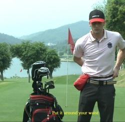Helix Nylon Golf Ball Bag, golf tees bag, portable golf tees &balls bag