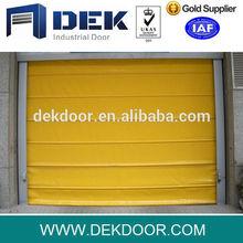 PVC high speed folding door l high speed auto pvc stacking door