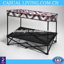 plastic pet shade bed