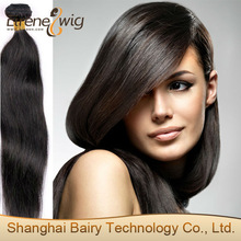 Wholesale top quality factory price 5A Grade 100% Peruvian virgin hair weft