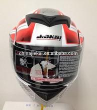 Unique full face flip up motorcycle helmet