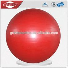 Pvc respetuoso del medio ambiente bola de la aptitud para adultos fuerza cuerpo