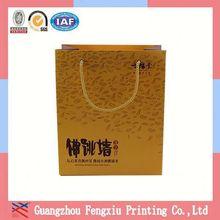 Generous Full Color Printed Advertising Hot Sales Shopping Bag