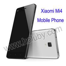 Xiaomi Mi4 Mi4 M4 Mobile Phone 5 inch Qualcomm Snapdragon 801 Android Quad Core 1920X1080P 3GB +16GB 8MP 13MP GPS Wifi Bluetooth