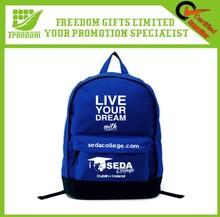 High Quality Customsied Logo Printed School Backpack Bag