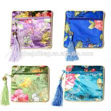 Small custom Kit Bag jewelry bag promotional christmas gift bag with tassel