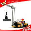 china famosas marcas de brinquedo de plástico solução bulding blocos de brinquedo para crianças puzzle diy brinquedo guindaste do caminhão para miúdos meninos 6212