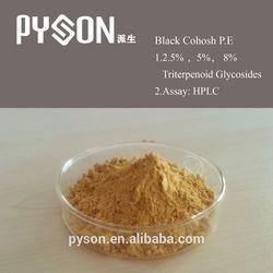 100% Natural Black Cohosh Extract ( Triterpenoid saponis 2.5%)