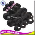 Varejistas de mercadorias em geral, baratos cabelo de tecelagem do cabelo humano brasileiro