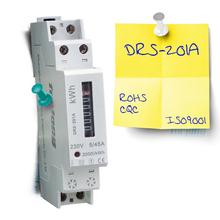 Single phase register display elctricity kwh sensor meter