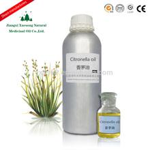 China hot sale 100% pure natural best price for citronella oil