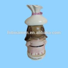 New Product Ceramic Puppy Dog Wine Bottle