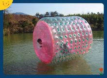 Newest theme park walking inflatable water roller for sale