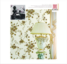 Thick pvc modern vinyl wallcovering with deep pattern