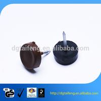 High Pressure Plastic Cap Head Ring Shank Nail