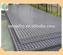 grp frp fiber reinforced plastic lattice flooring walkway trap drainage cover