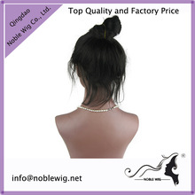 2014 Best Selling 100% Human Virgin Hair 6A Quality Ponytail Lace Front Wig